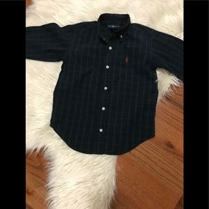 Ralph Lauren plaids boys shirt